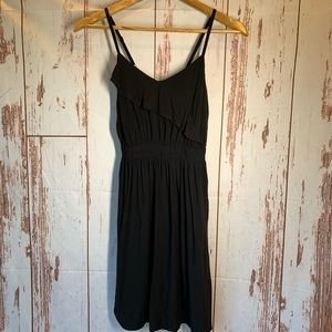 XHILIRATION BLACK SUN DRESS